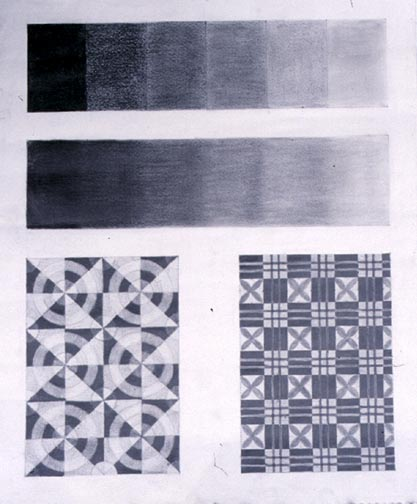 Gray scale pattern design