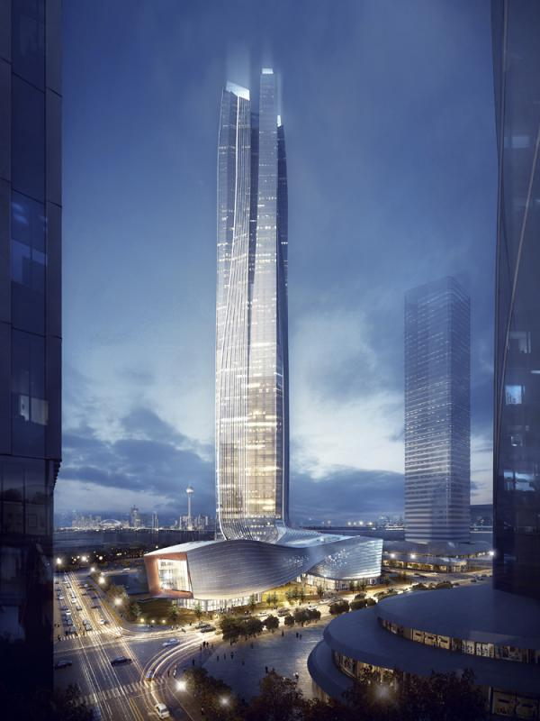 HENGQIN INTERNATIONAL FINANCIAL CENTER 2