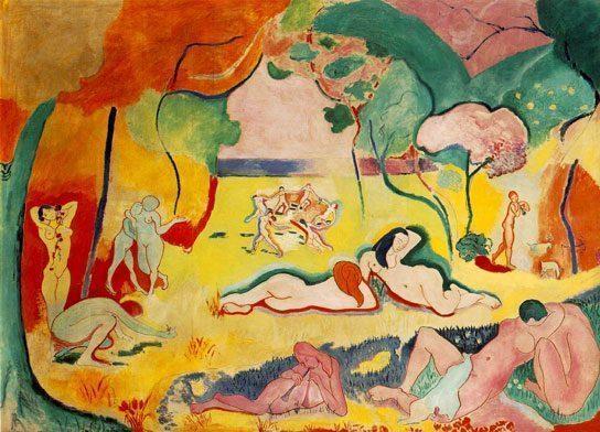 Joy-of-Life-(Le-Bonheur-de-Vivre)-(1905-06) DANH HỌA HENRI MATISSE VÀ CÁC TÁC PHẨM NGHỆ THUẬT NỔI TIẾNG Joy of Life Le Bonheur de Vivre 1905 06
