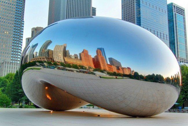 Kapoor-Cloud-Gate-Chicago  SỨC MẠNH CỦA CÁC TÁC PHẨM ĐIÊU KHẮC CÔNG CỘNG Kapoor Cloud Gate Chicago e1458009260897