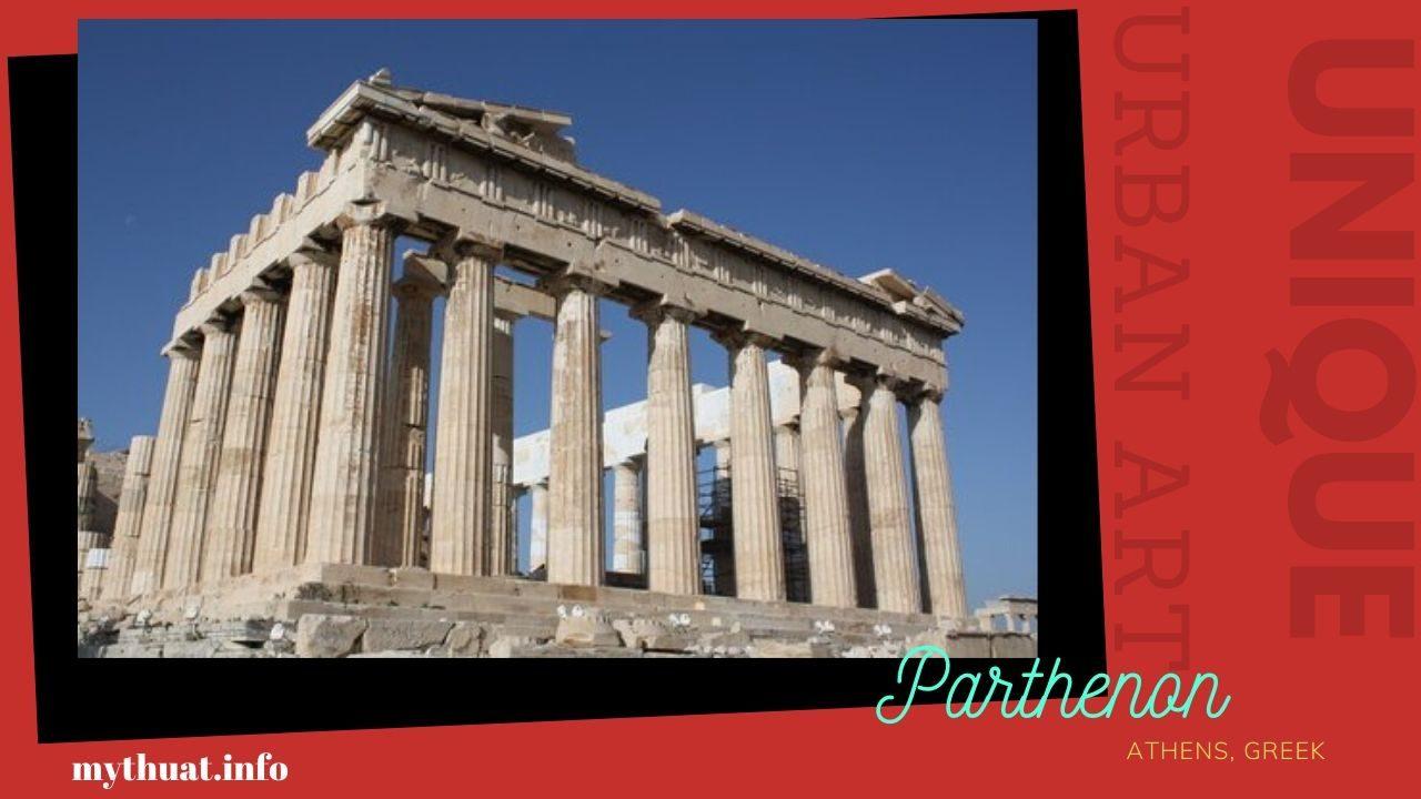 Mỹ Thuật Đô Thị : Công trình mỹ thuật ở Hy Lạp