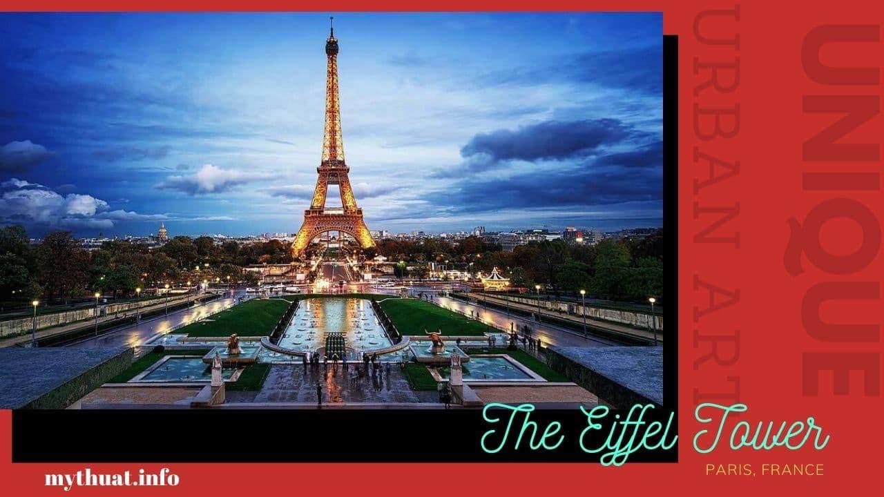 Mỹ Thuật Đô Thị : Công trình mỹ thuật ở Pháp