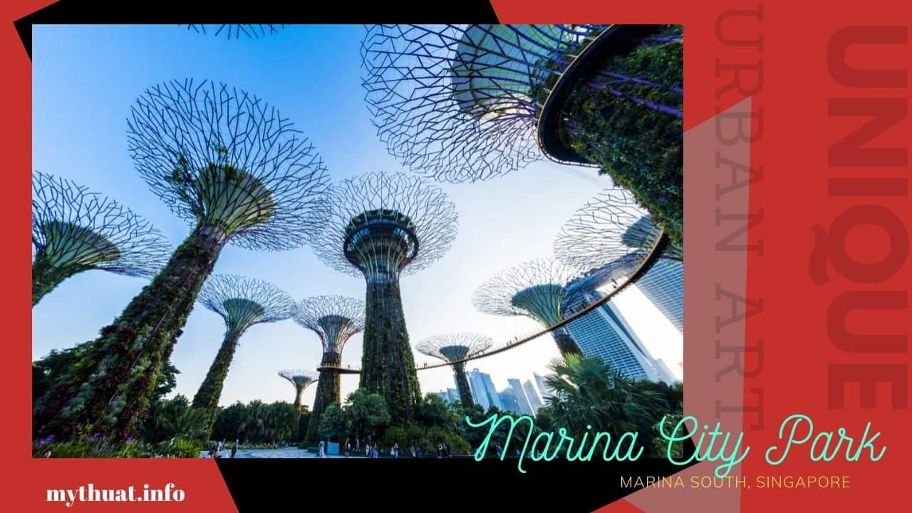 Mỹ Thuật Đô Thị : Công trình mỹ thuật ở Singapore