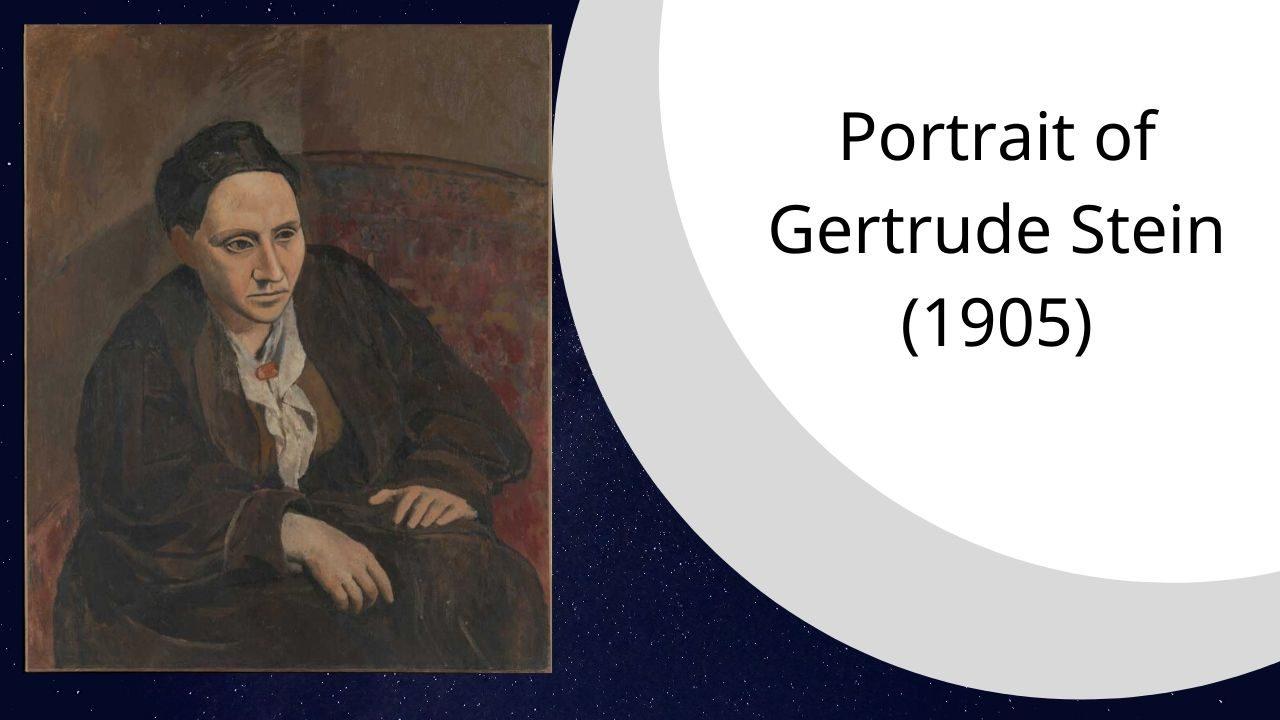 Portrait of Gertrude Stein (1905)