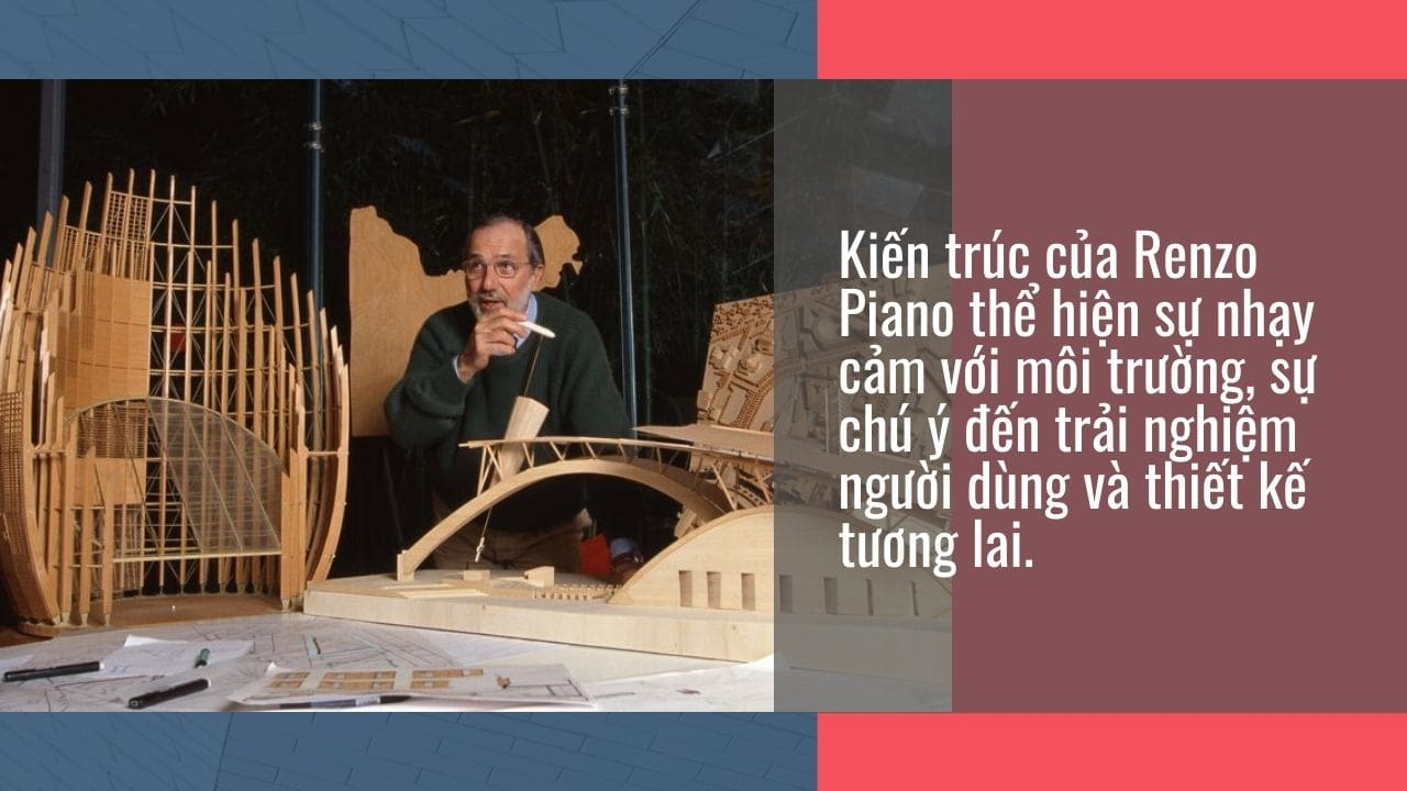 Kiến trúc sư Renzo Piano