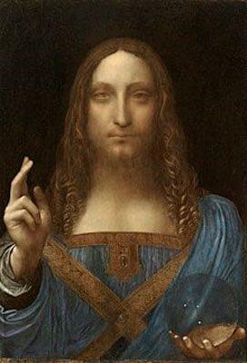 Salvatore Mundi (c.1500)  10 BỨC HỌA ĐẮT NHẤT THẾ GIỚI Salvatore Mundi c