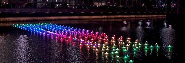 Scottsdale Canal Convergence – Water + Art + Light  CƠ HỘI VIỆC LÀM NGÀNH MỸ THUẬT ĐÔ THỊ Scottsdale Canal Convergence     Water Art Light