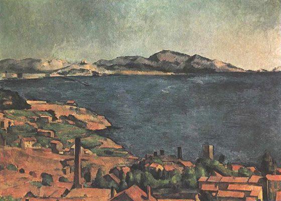 The Bay of Marseille, Seen from L'Estaque (1885)  DANH HỌA PAUL CÉZANNE VÀ HẬU ẤN TƯỢNG The Bay of Marseille Seen from LEstaque 1885