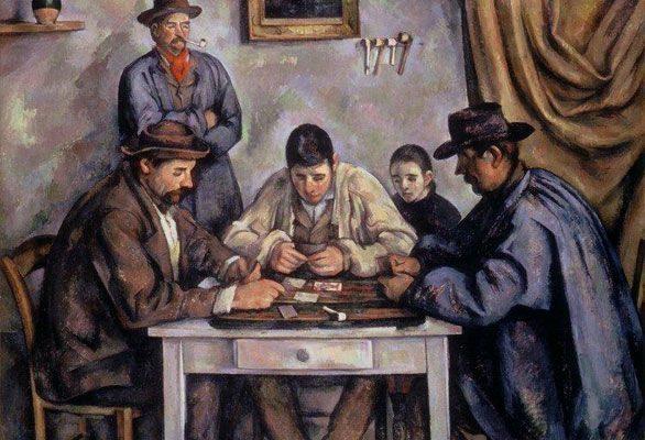 The Card Players (1890-1892)  DANH HỌA PAUL CÉZANNE VÀ HẬU ẤN TƯỢNG The Card Players 1890 1892