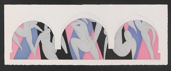 The Dance II (1932) DANH HỌA HENRI MATISSE VÀ CÁC TÁC PHẨM NGHỆ THUẬT NỔI TIẾNG The Dance II 1932