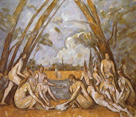 The Large Bathers (1898-1906)  DANH HỌA PAUL CÉZANNE VÀ HẬU ẤN TƯỢNG The Large Bathers 1898 1906