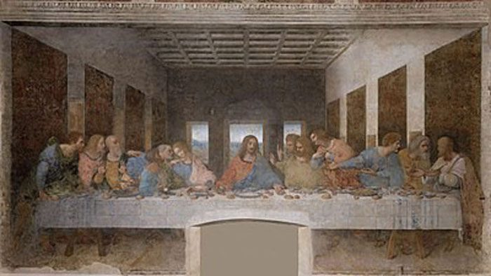 The Last Supper (1498) LEONARDO DA VINCI HỌC GIẢ VĨ ĐẠI The Last Supper 1498