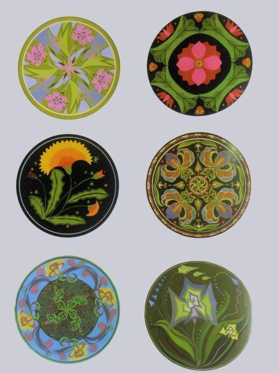Ví-dụ-trang-trí-hình-tròn-3  PHƯƠNG PHÁP TRANG TRÍ HÌNH TRÒN V   d    trang tr   h  nh tr  n 3