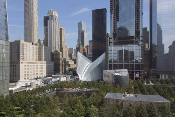 WTC-Hub  SỰ KHÁC NHAU GIỮA  KIẾN TRÚC VÀ KIẾN TRÚC CẢNH QUAN WTC Hub New York City 2003   2016 2