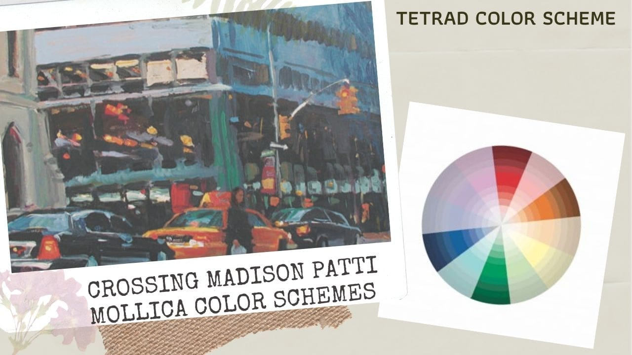 Cách phối màu cơ bản_Hòa sắc bổ túc bộ bốn_crossing madison patti mollica color schemes_Artists network