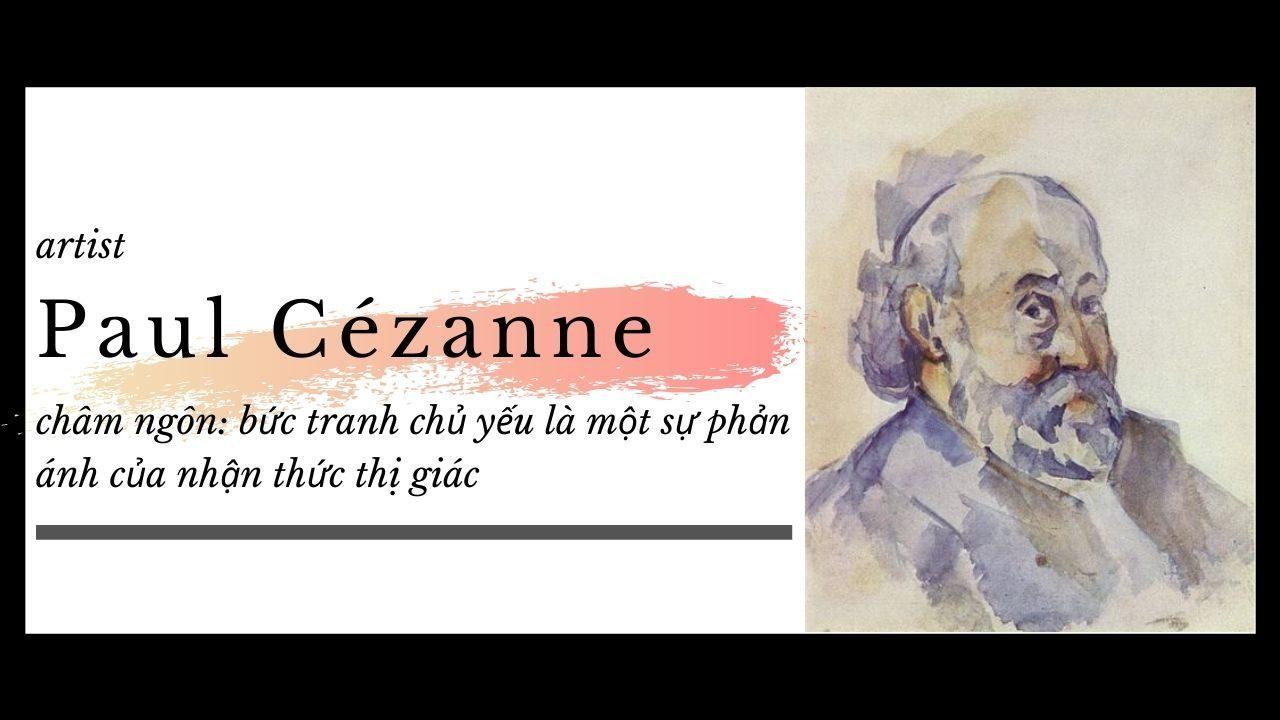 danh họa Paul Cézanne