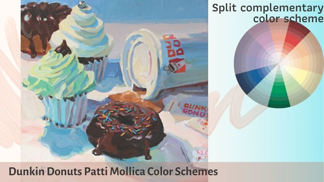 Cách phối màu cơ bản_Hòa sắc _Dunkin donuts patti mollica color schemes_Artists network