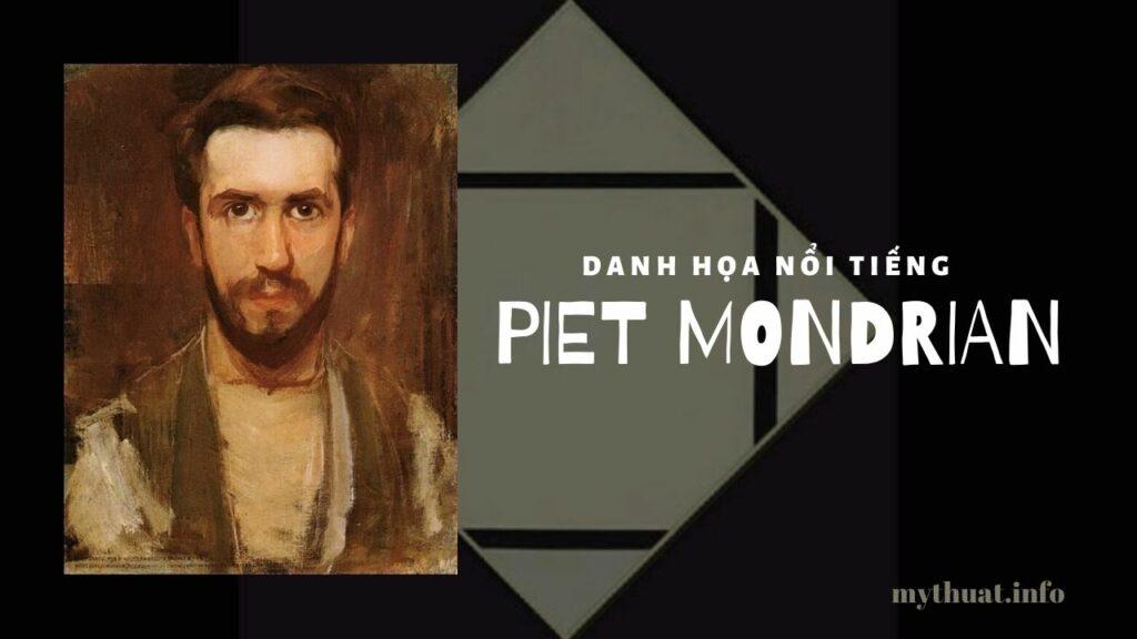 Họa sĩ trừu tượng Piet Mondrian