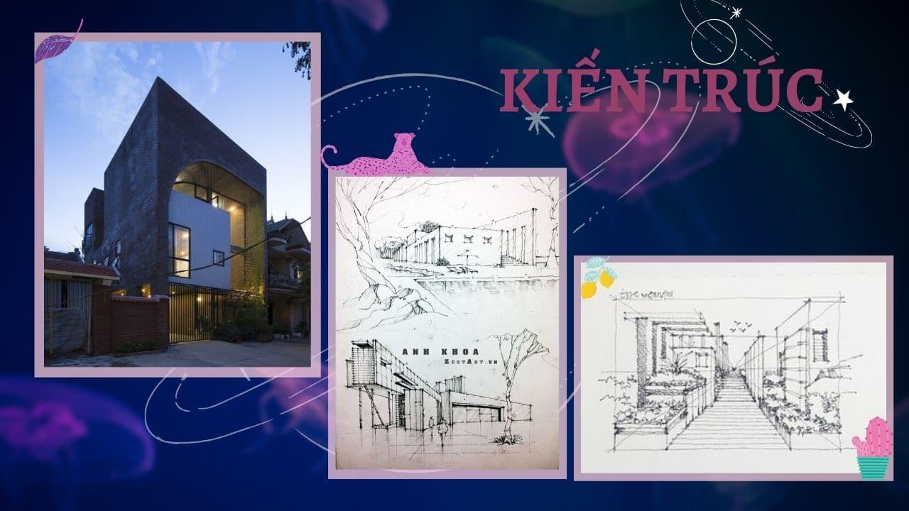 Sự khác nhau giữa Kiến trúc và Kiến trúc cảnh quan