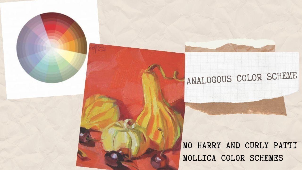 Mo harry and curly patti mollica color schemes_Cách phối màu cơ bản_Hòa sắc tương đồng_Mo harry and curly patti mollica color schemes_Artists networkArtists network
