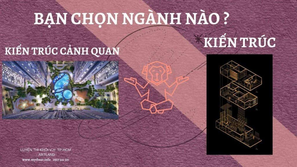 Nên học kiến trúc hay kiến trúc cảnh quan