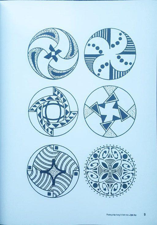 ví-dụ-Cấu-trúc-hình-tròn  PHƯƠNG PHÁP TRANG TRÍ HÌNH TRÒN v   d    C   u tr  c h  nh tr  n
