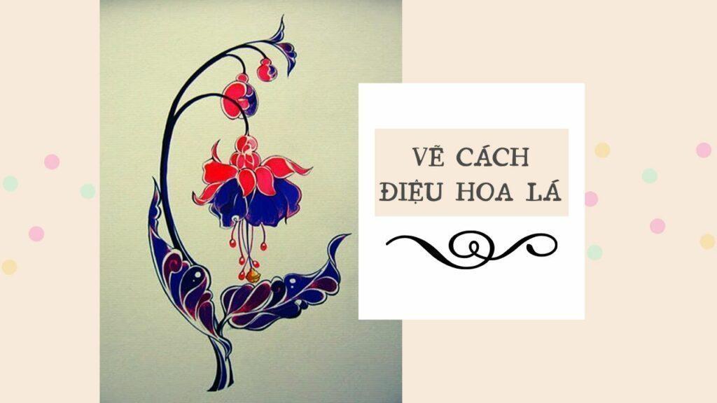 Vẽ cách điệu hoa lá