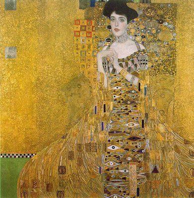 Adele Bloch-Bauer I (1903-1907)  HỌA SĨ GUSTAV KLIMT  HỌA SĨ VĨ ĐẠI CỦA THẾ KỶ 20 Adele Bloch Bauer I 1903 1907