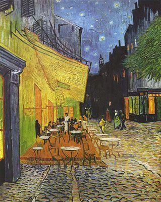 Café Terrace At Night (1888)