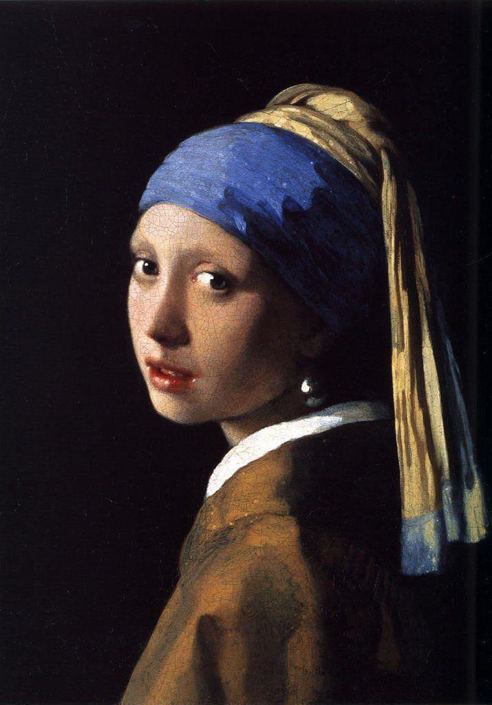 Girl_With_A_Pearl_Earring  10 BỨC TRANH NỔI TIẾNG NHẤT THẾ GIỚI Girl With A Pearl Earring