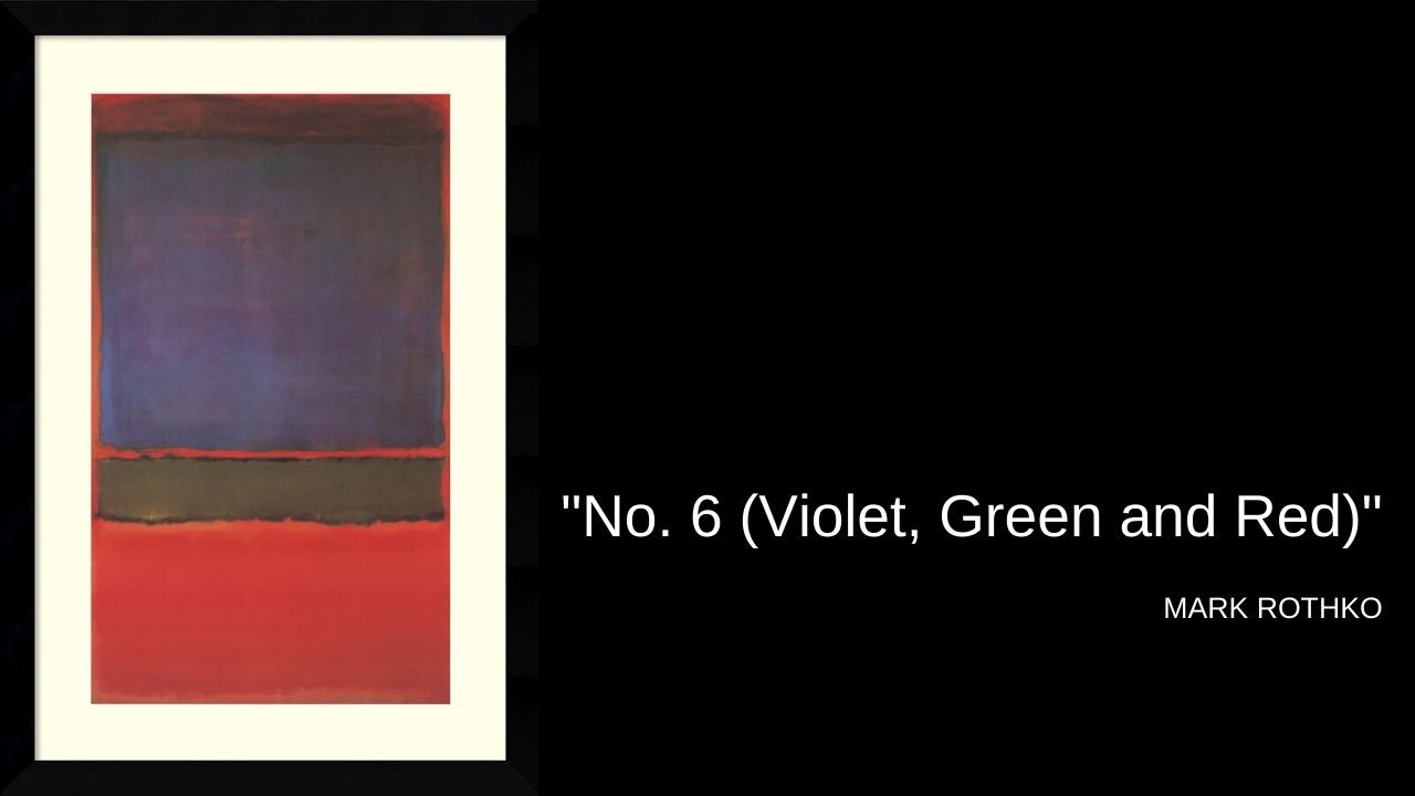 """No. 6 (Violet, Green and Red)"", 1951"