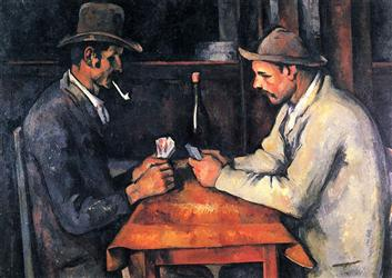 Paul Cézanne The Card Players, 1892:93  10 BỨC HỌA ĐẮT NHẤT THẾ GIỚI Paul C  zanne The Card Players 189293