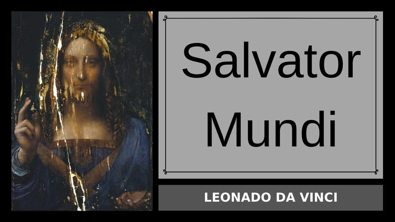 Salvator Mundi của Leonado da Vinci