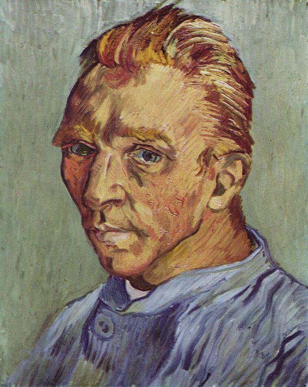 Self_Portrait_Without_Beard_van_gogh  10 BỨC TRANH NỔI TIẾNG NHẤT THẾ GIỚI Self Portrait Without Beard van gogh