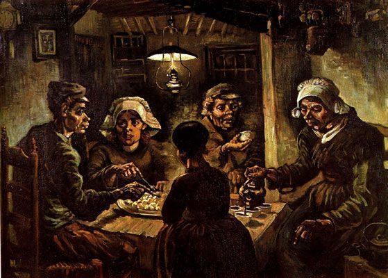The Potato Eaters (1885)