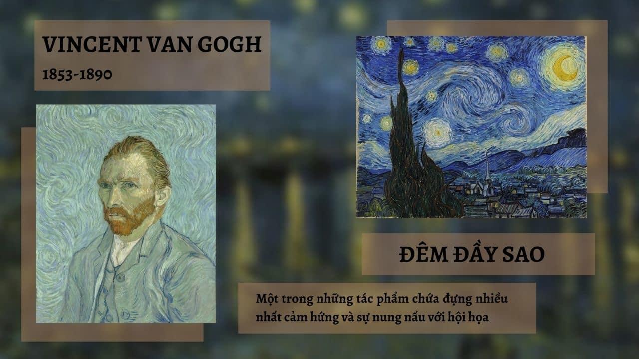 Vincent van Gogh và tác phẩm Đêm đầy sao