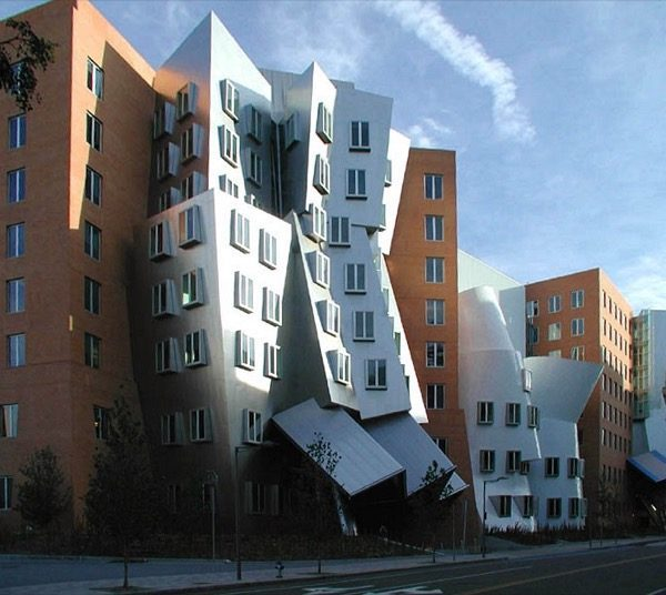 MIT Ray and Maria Stata Center in Cambridge, Massachusetts  FRANK GEHRY KIẾN TRÚC SƯ PHÁ BỎ MỌI QUY TẮC Wfm stata center