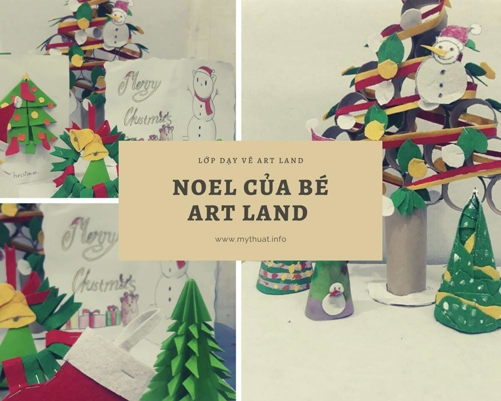 Noel của bé tại Art Land
