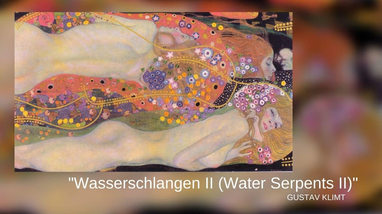 """Wasserschlangen II (Water Serpents II)"" (1907)"