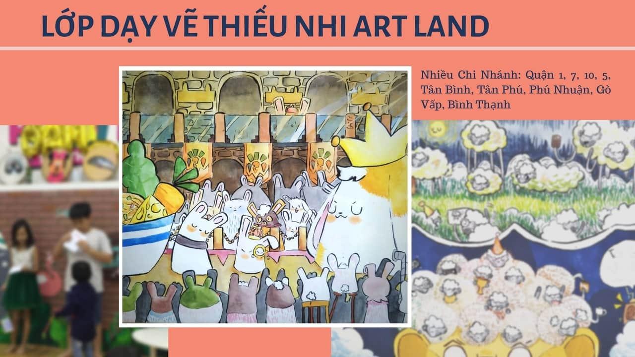 Lớp dạy vẽ thiếu nhi Art Land
