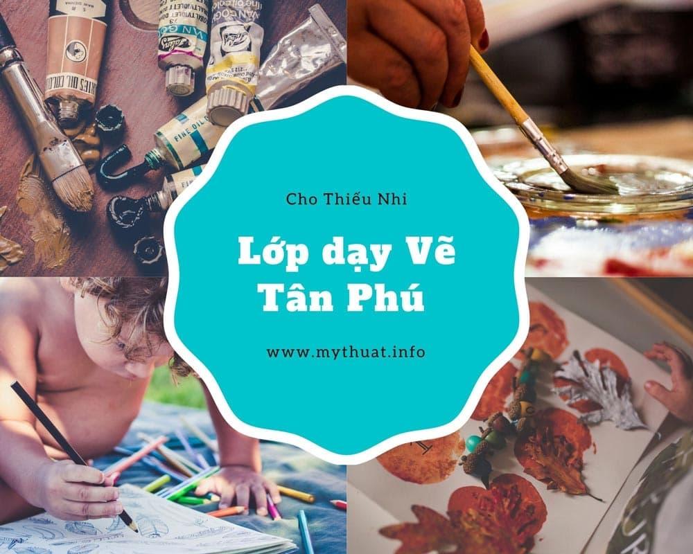 Lớp dạy vẽ thiếu nhi quận Tân Phú