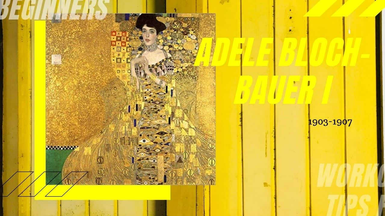 tác phẩm Adele Bloch-Bauer I(nguồn internet)
