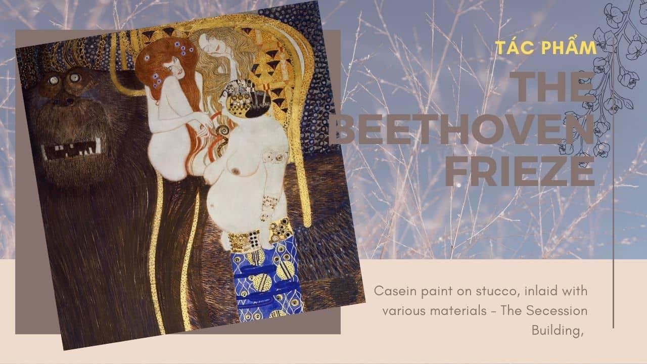 tác phẩm The Beethoven Frieze(nguồn internet)