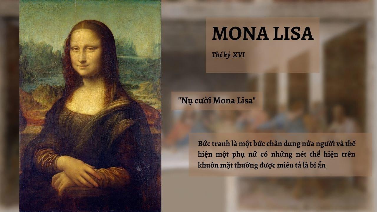 "Tác phẩm ""Mona Lisa"""
