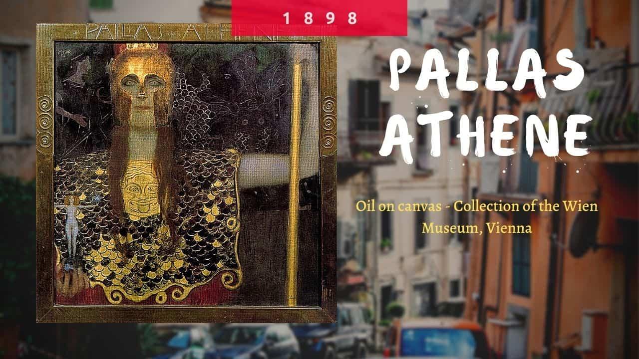 tác phẩm Pallas Athene(nguồn internet)