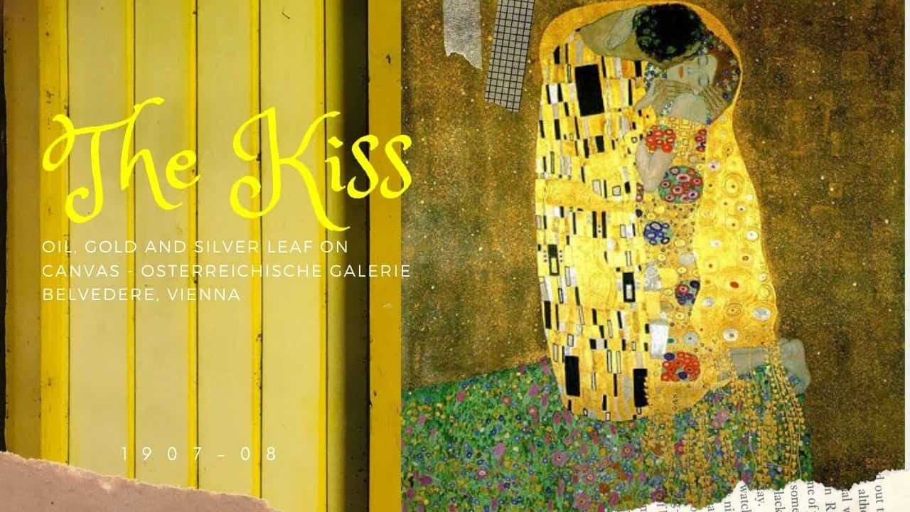 tác phẩm The Kiss(nguồn internet)