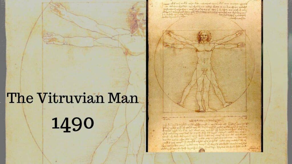 Tác phẩm the vitruvian man