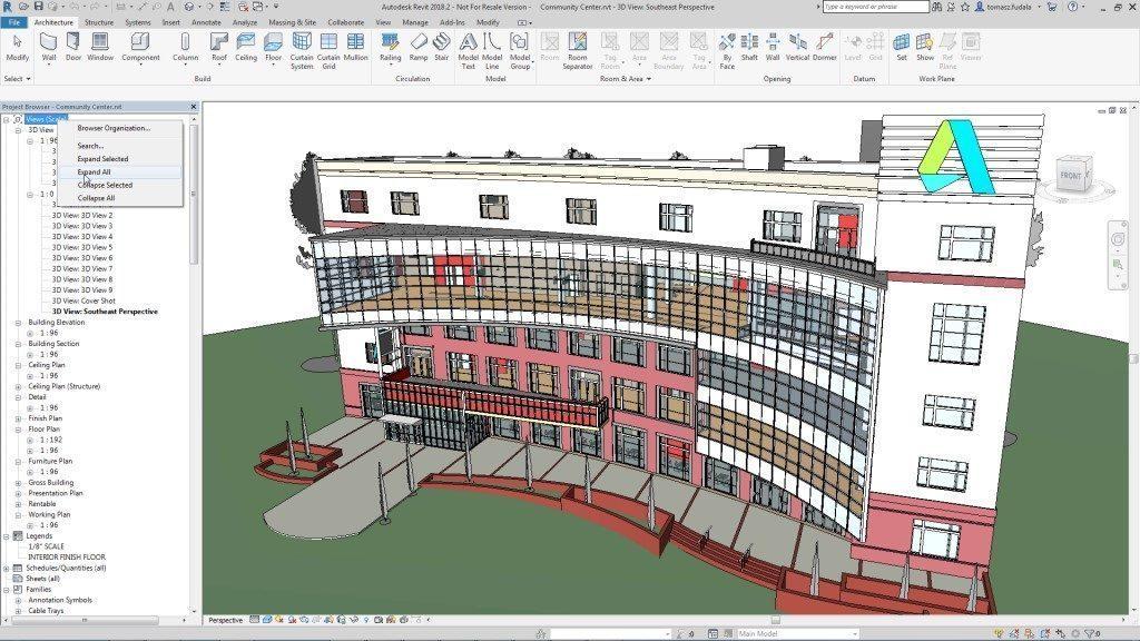 Phần mềm thiết kế nhà 3D Revit