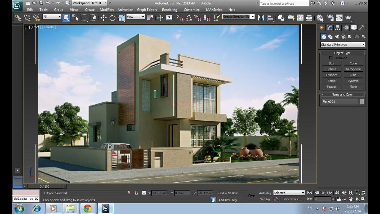Phần mềm thiết kế nhà 3Ds Max