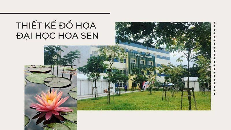 Thiết kế đồ họa trường đại học Hoa Sen